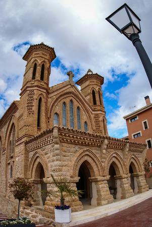 aragon: Image of a church at Villaspesa, Teruel, Aragon, Spain