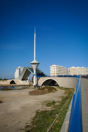 drawbridge: Image of Drawbridge at La Manga, Valencia y Murcia, Spain