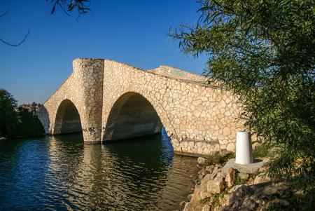 murcia: Image of old bridge at La Manga, Valencia y Murcia, Spain