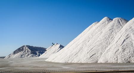 san pedro: Scenic view of mountains of salt, San Pedro del Pinatar, Valencia y Murcia, Spain