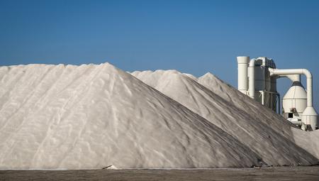 murcia: Scenic view of mountains of salt, San Pedro del Pinatar, Valencia y Murcia, Spain