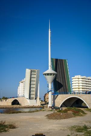 murcia: Image of Drawbridge at La Manga, Valencia y Murcia, Spain