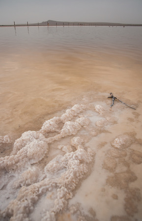 vertical wellness: Image of russian Dead Sea - Lake Baskunchak, Russia