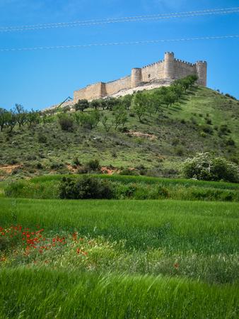 castilla la mancha: Ruins of Cid castle, Jadraque, Castilla la Mancha, Spain