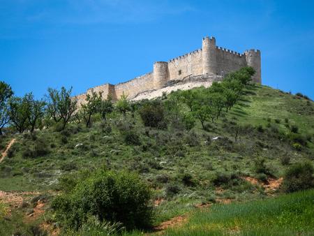 mancha: Ruins of Cid castle, Jadraque, Castilla la Mancha, Spain