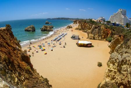 rocha: Scenic image of Praia da Rocha, South Portugal Stock Photo