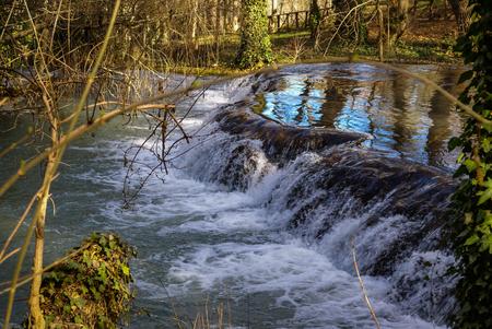zaragoza: Image of Waterfalls at Monasterio de Piedra, Zaragoza, Aragon, Spain