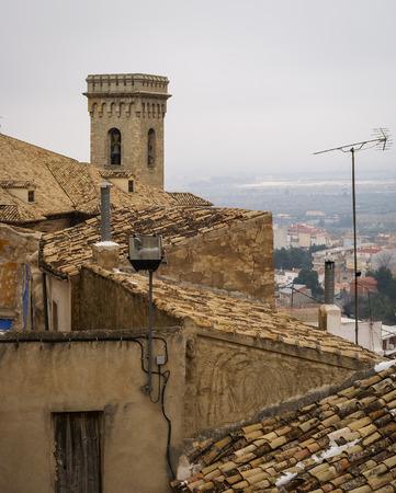 murcia: Citysczpe at Moratalla, Valencia y Murcia, Spain