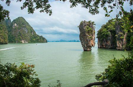 na: Image of Bond island, Prang Na, Thailand