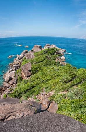 similan: Scenic and beautiful seascape at Similan islands, Thailand Stock Photo