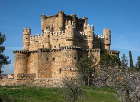 castilla la mancha: Image of Guadamur castle, Toledo, Castilla la Mancha, Spain