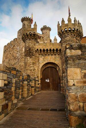 castilla y leon: Image of a Castle of Ponferada, Castilla y Leon, Spain