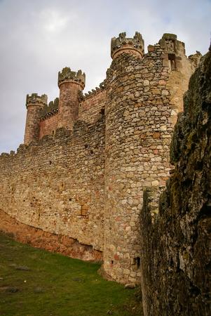 castilla y leon: Image of Turegano castle, Castilla y Leon, Spain