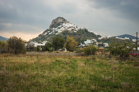 sporades: Image of Cityscape, Skiros, Nothern Sporades, Greece