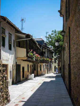 castilla y leon: Image of streets of Ponferada, Castilla y Leon, Spain