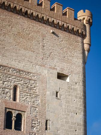 castilla y leon: Ruins of in Arevalo, Avila, Castilla y Leon, Spain