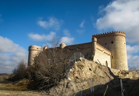 castilla y leon: Ruins of Castle in Arevalo, Avila, Castilla y Leon, Spain