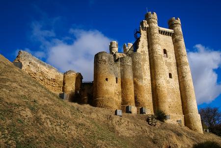 Ruins of Castle at Valencia de Don Juan, Castilla y Leon, Spain