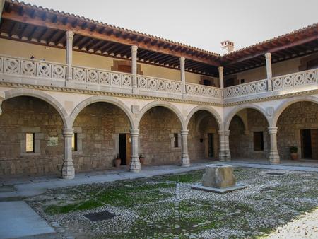 castilla y leon: Image of Adrada castle, Avila, Castilla y Leon, Spain
