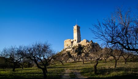 murcia: Image of ruins of the castle at Beniloba, Valencia y Murcia, Spain