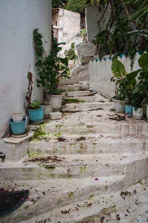 poros: Scenic cityscape at island  of Poros, Greece Stock Photo