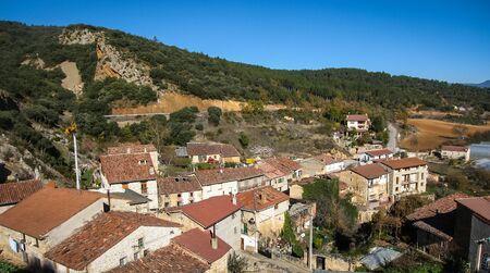 castilla y leon: Cityscape at  in Tobera, Burgos, Castilla y Leon, Spain