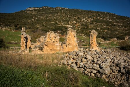 western europe: Image of ruins of an ancient monastery at Stimfalia, Peloponnese, Greece