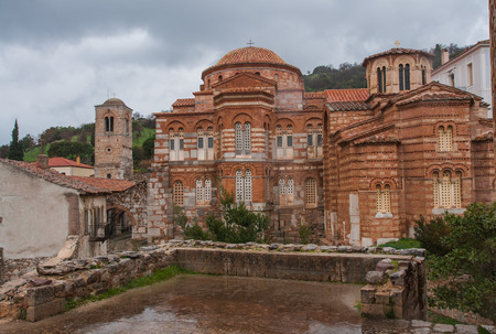 Luke: Image of  monastery of St. Luke near Delphi in central Greece Stock Photo