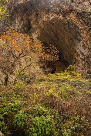 evritania: Scenic mountain autumn landscape at Evitania, Greece