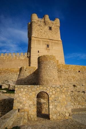 murcia: Ruins of Castle at Vilena, Valencia y Murcia, Spain
