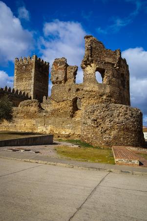 Image of castle in Laguna de Negrillos, Castilla y Leon, Spain