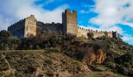 castilla y leon: Image of beautiful castle Cornatel in Castilla y Leon, Spain