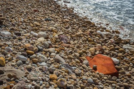 beautiful rare: Beautiful natural colors of Firiplaka beach, Milos, Greece