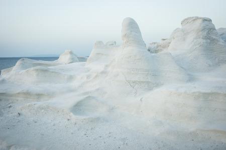 moonscape: Image of Moonscape beach Sarakiniko, Milos, Greece
