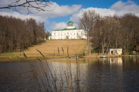 recently: Scenic view of recently restored ancient homestead with a dome