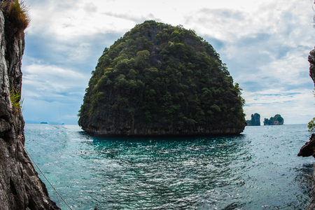 Image of Tropical  Phi Phi island in Land of smiles, Thailand