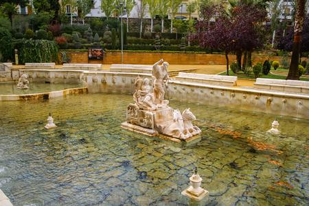 Cityscape in de witte stad Priego de Cordoba in Andalusië in Spanje