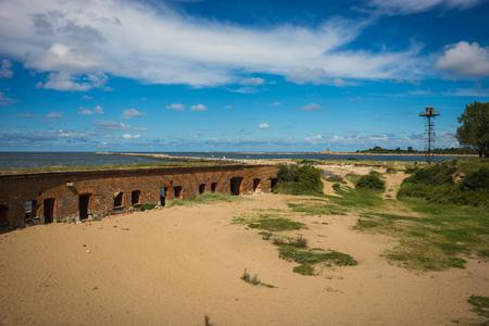Image of Fort Zapadny in Baltiysk in Kaliningrad region, Russia