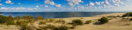 風光明媚な海の風景、ロシアのカリーニング ラード地域にクルシュー砂州