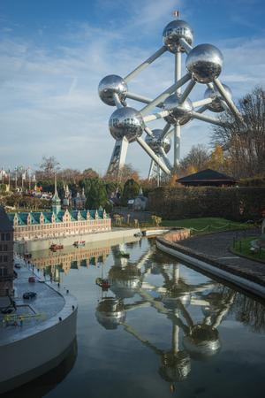 Brussels, Belgium - Novembre 25, Mini Europe in Brussels, Belgium