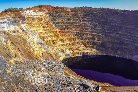 Red river mines (Minas del rio Tinto), Huelva, Andalusia, Spain