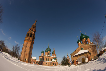 Image of Church of John Chrysostom in Korovniki in Yaroslavl