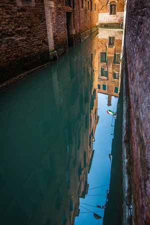 Image of picturesque chanels of Venice in Italy