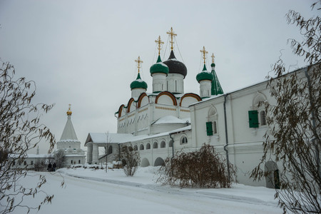 Image of Ascension Caves Monastery in Nizhny Novgorod in Russia Archivio Fotografico