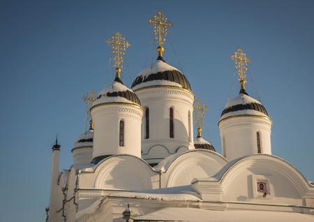 Image of Holy Annunciation Monastery in Murom, Vladimir Region, Russia Archivio Fotografico