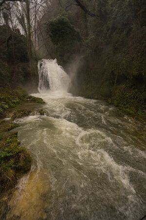 Image of Marble waterfall near Terni in Umbria, Italy
