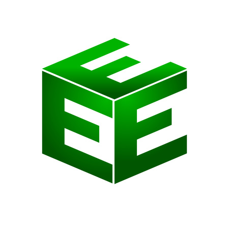 initial: Initial E Box Shape Illustration