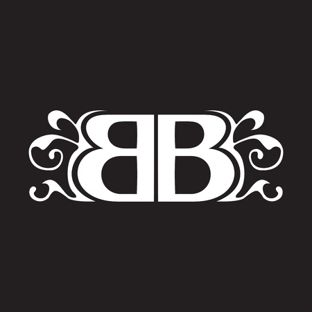 initials: BB Initials Classical Ornaments