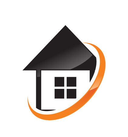 simple house: Simple House Network Illustration