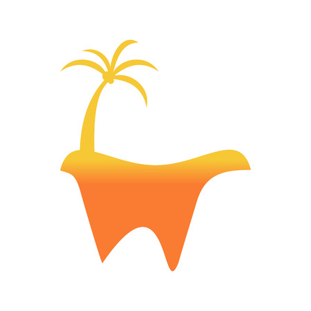 Abstract Orange W Logo
